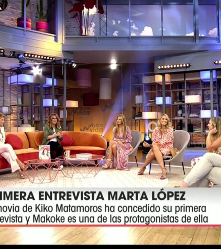 """El detalle de la nueva presentadora de Viva la Vida que todo el mundo comenta: """"Es impresionante"""""""