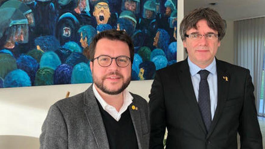 Aragonès diu que ERC ha fet una proposta a Junts i revela que ha tingut una conversa amb Puigdemont