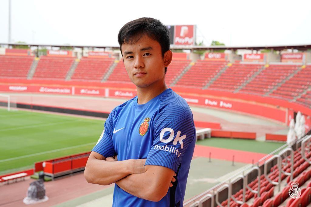 Take Kubo ya es jugador del Real Mallorca