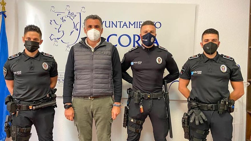 La plantilla de la policía local de Coria se refuerza con dos nuevos agentes