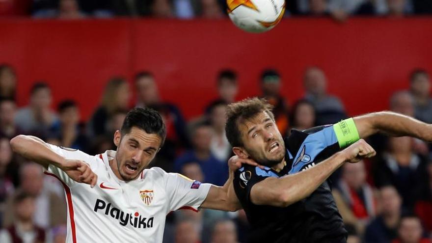 Europa League: El Sevilla elimina a la Lazio y se planta en octavos