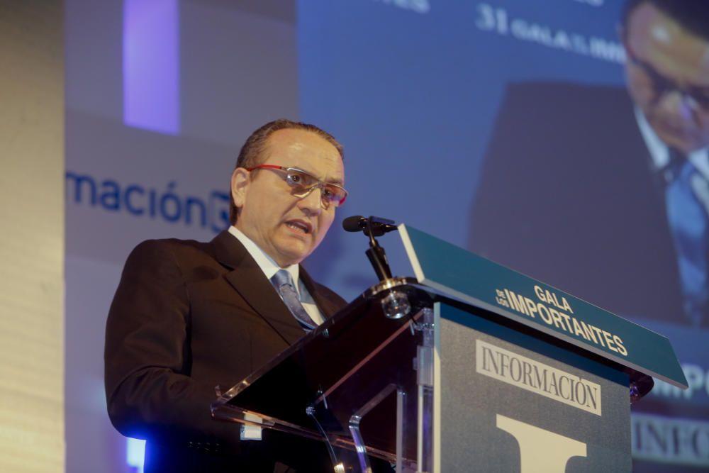 Javier Moll, presidente de Editorial Prensa Ibérica, durante su discurso