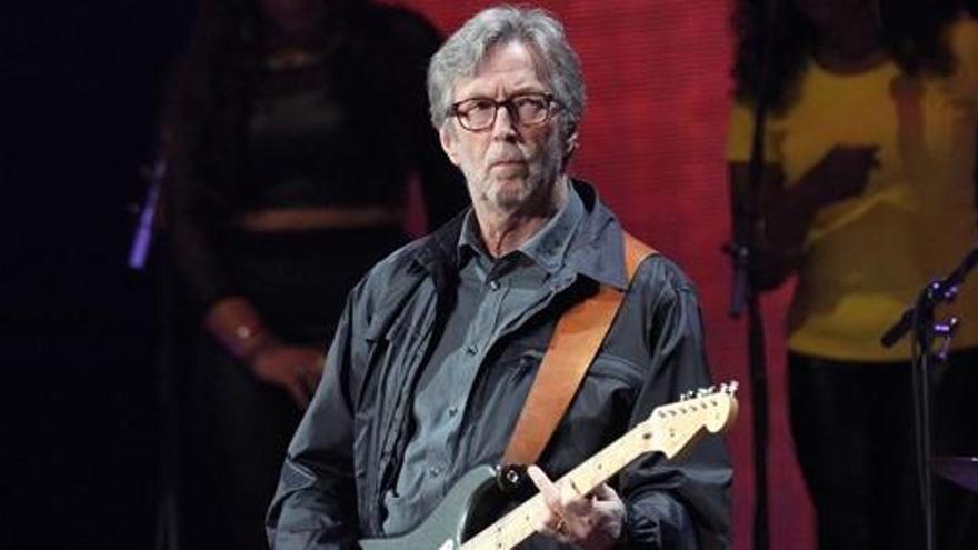"""Eric Clapton: """"Me estoy quedando sordo"""""""