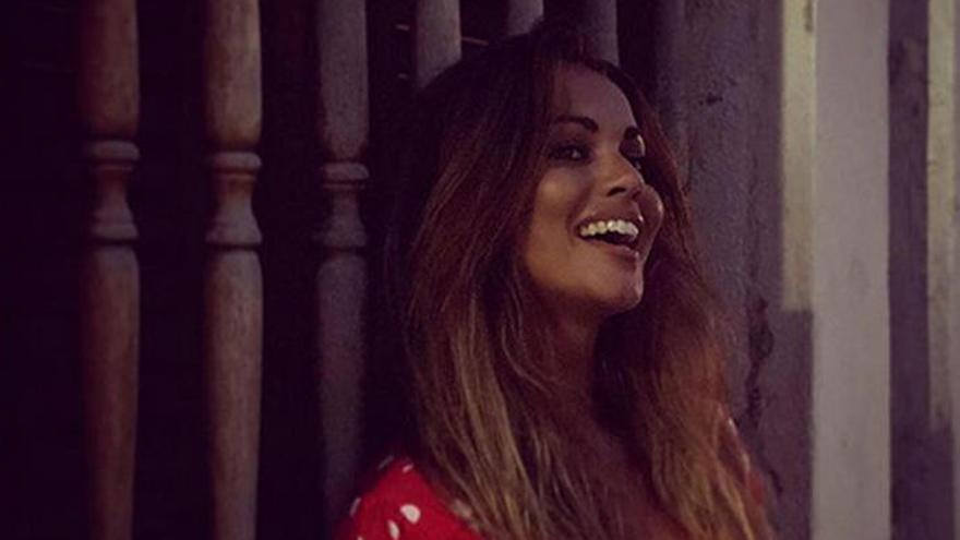 Lara Álvarez se ríe de los que la relacionan con Dani Martín