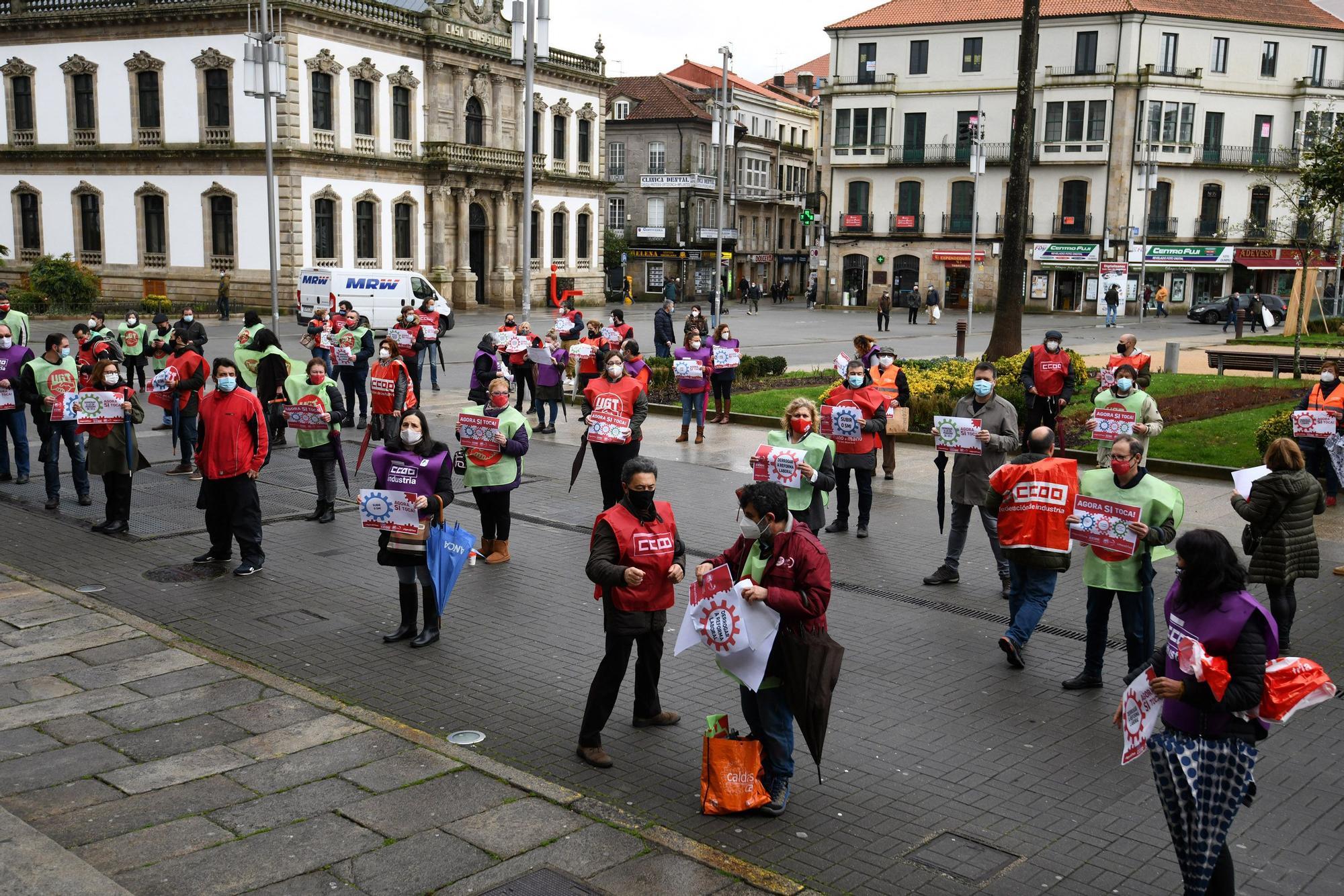 """""""Ahora sí toca"""", claman los sindicatos sobre el SMI y la reforma laboral"""