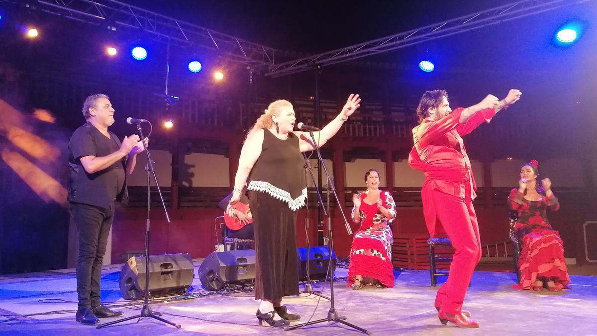 Rafael Amargo baila una de sus coreografías de su nuevo espectáculo