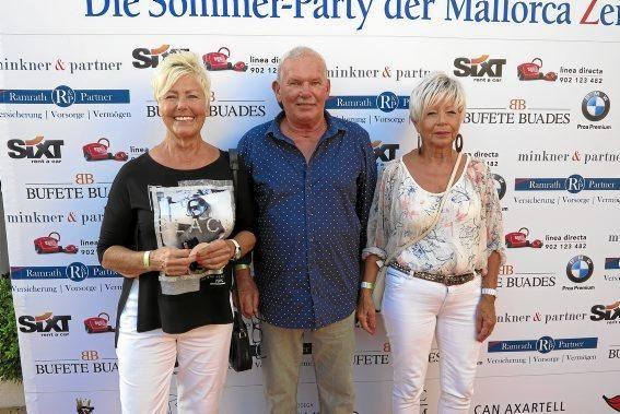 Christiane Perrier, Udo Sauer und Magitta Tolle