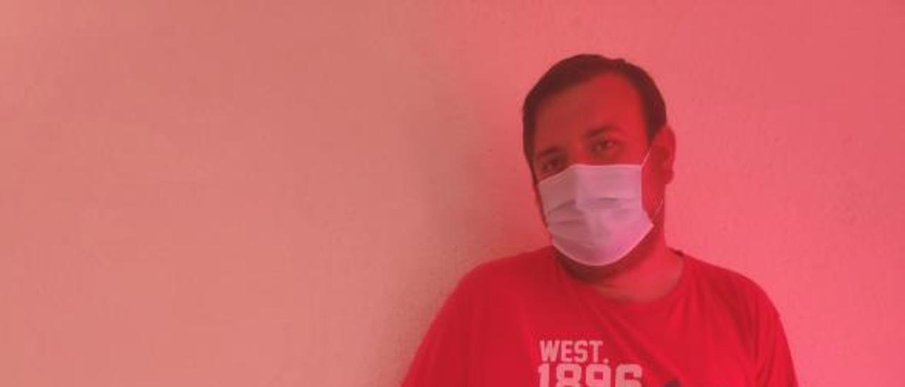 Ximo López, coordinador del CLGS, reivindica l'orgull rural   M.G.C