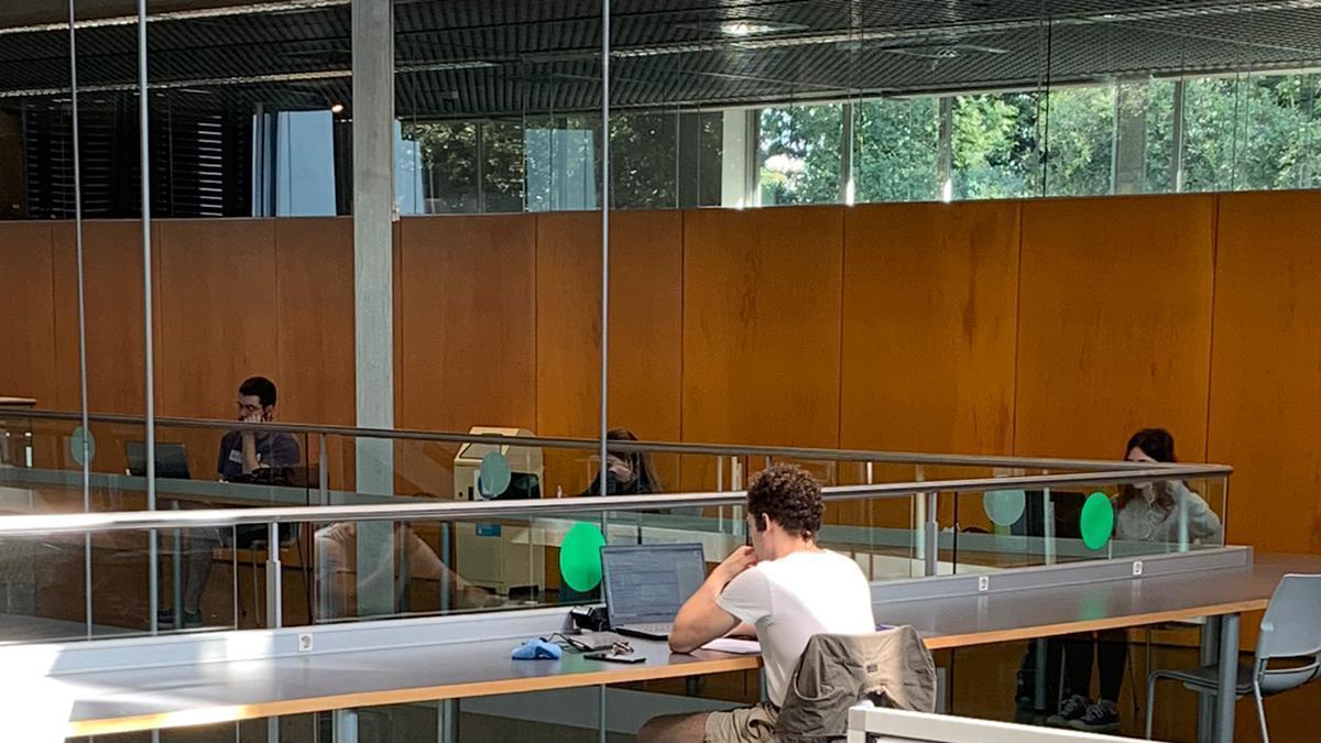 La UdG reobre les biblioteques i el Servei d'Esports aquest dilluns