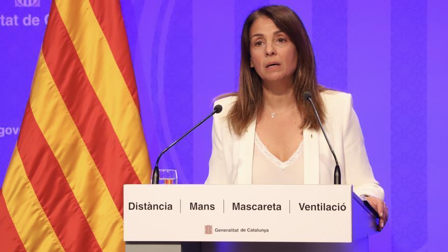 """Budó, a Simón: """"A Catalunya, deixarem d'utilitzar les mascaretes quan ho diguin les autoritats sanitàries"""""""