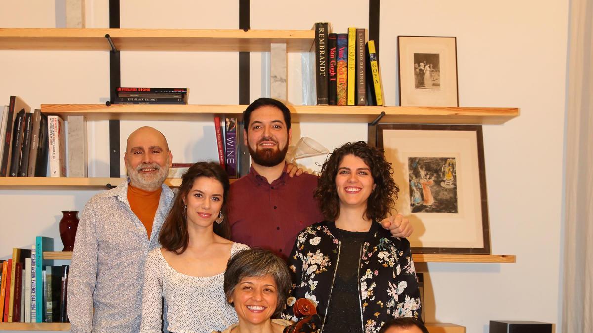Els set integrants de Kallias Ensemble