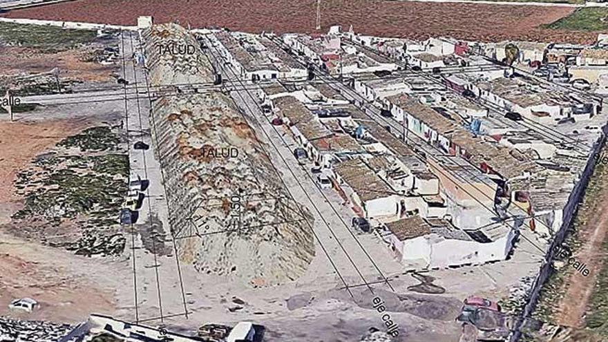 Cort aprueba la demolición de las 85 barracas que quedan en Son Banya