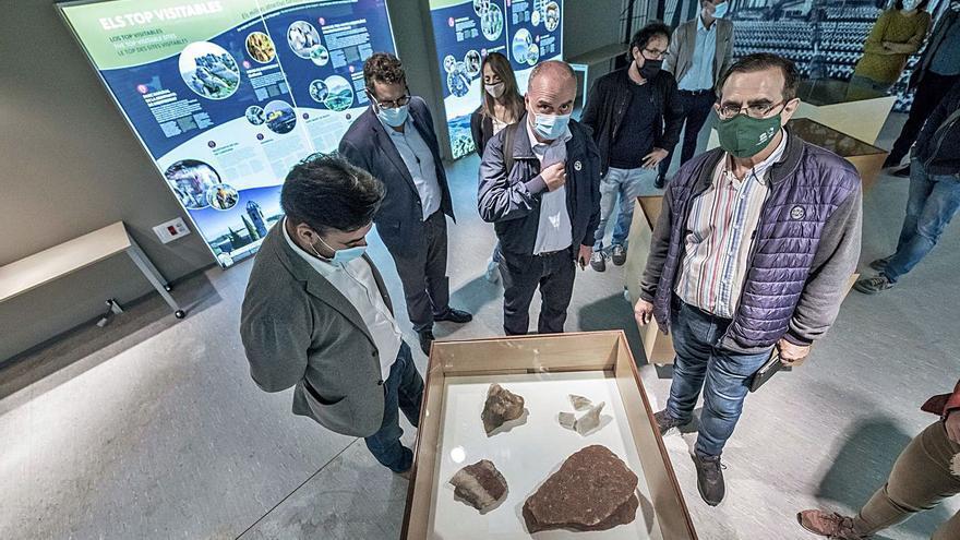 Els avaluadors de la UNESCO fan una valoració positiva dels avenços fets al Geoparc