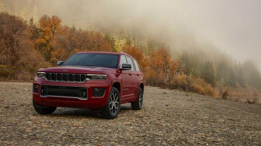 Nuevo Jeep Grand Cherokee L, aún más grande