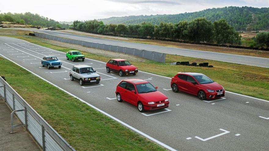 Los 6 modelos deportivos más icónicos de Seat: del 850 Coupé al Ibiza FR 2020