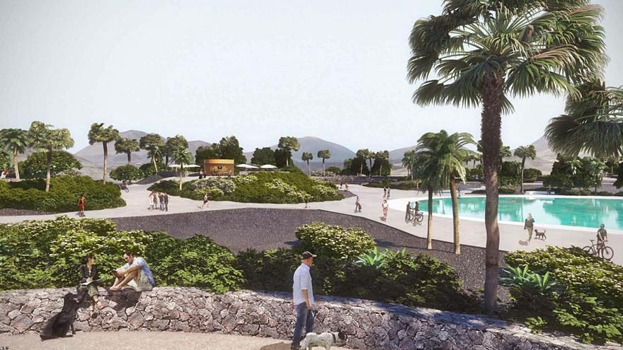 Playa Honda: parque y accesibilidad