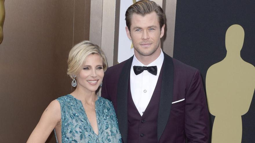 Elsa Pataky prohíbe a Chris Hemsworth más martillos de Thor en casa