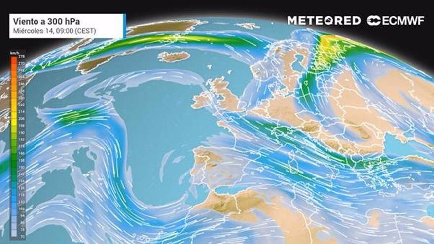 Una nube de dióxido de azufre llegará mañana a Málaga desde El Caribe
