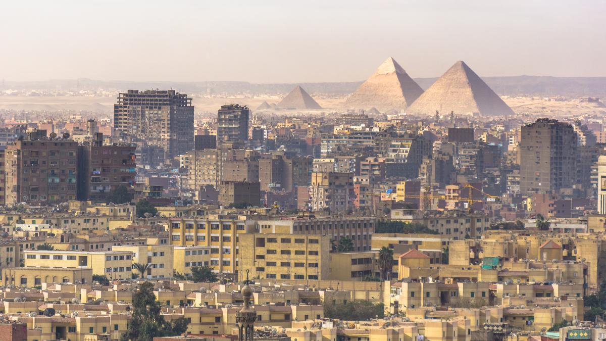 Vista de El Cairo.