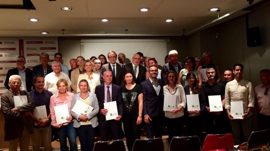 Onze càmpings gironins, distingits per la Generalitat per la seva excel·lència ambiental