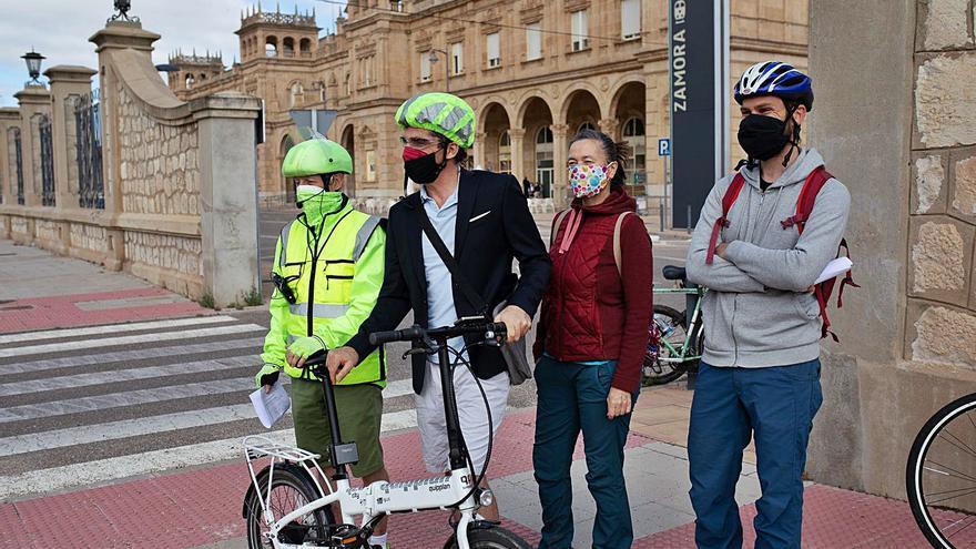 Zamora se encamina hacia un futuro con más espacio y protagonismo para la bici
