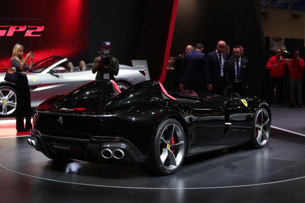El modelo Ferrari Monza SP2.
