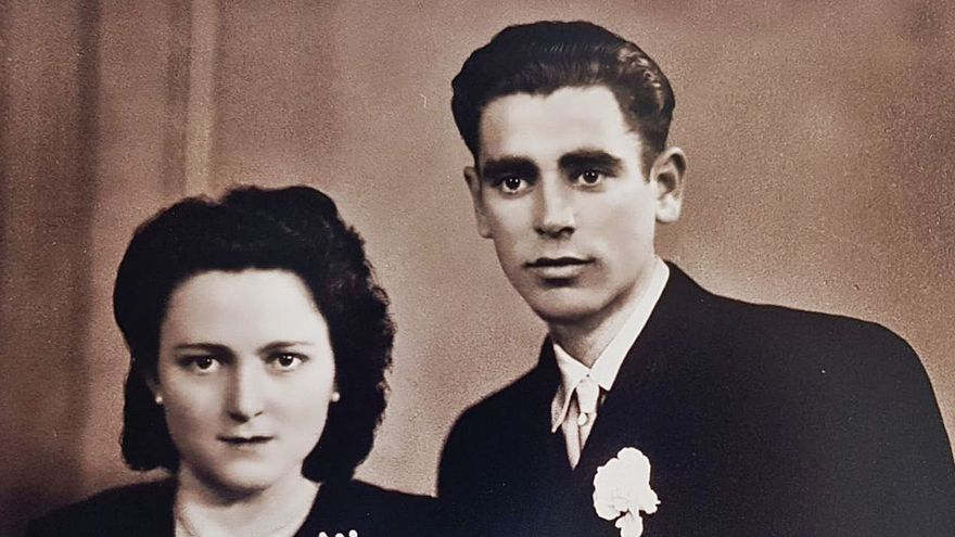 Jerónima y Arcadio, 70 años de matrimonio en Zamora