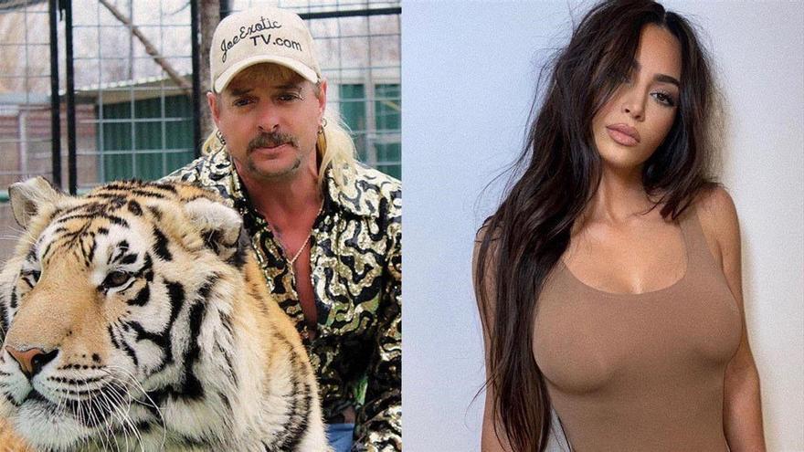 Joe Exotic pide a Kim Kardashian que le saque de la cárcel