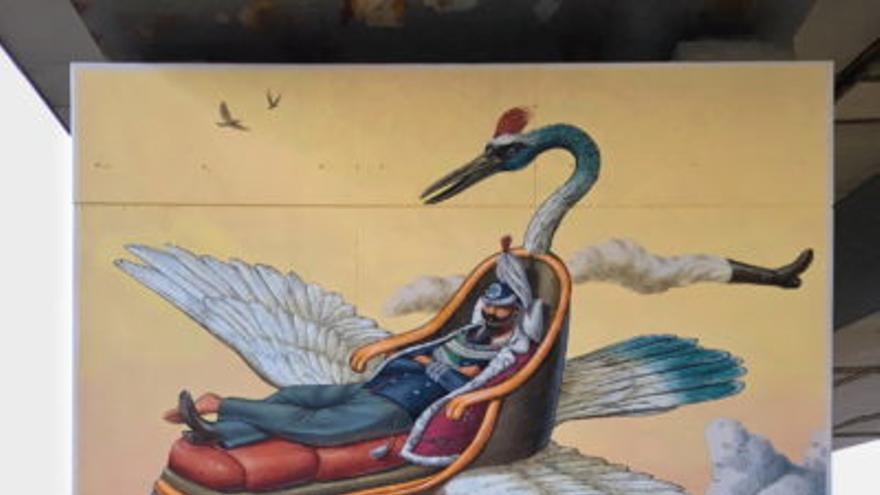 Los murales que podrían vestir Vigo este año