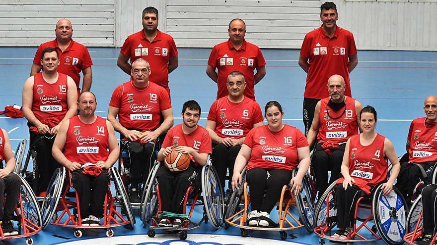 Baloncesto en silla de ruedas: El Garmat sueña despierto con el ascenso a la máxima categoría