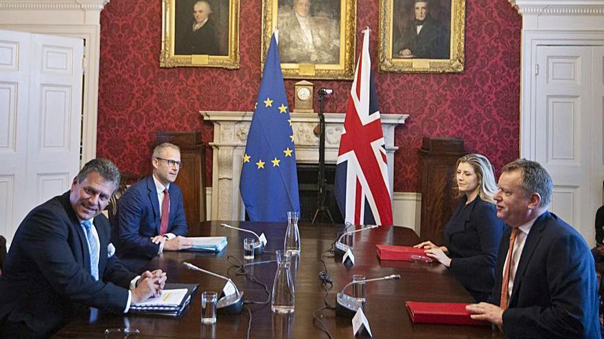 Nou xoc entre Brussel·les i Londres per l'aplicació del Protocol d'Irlanda del Nord