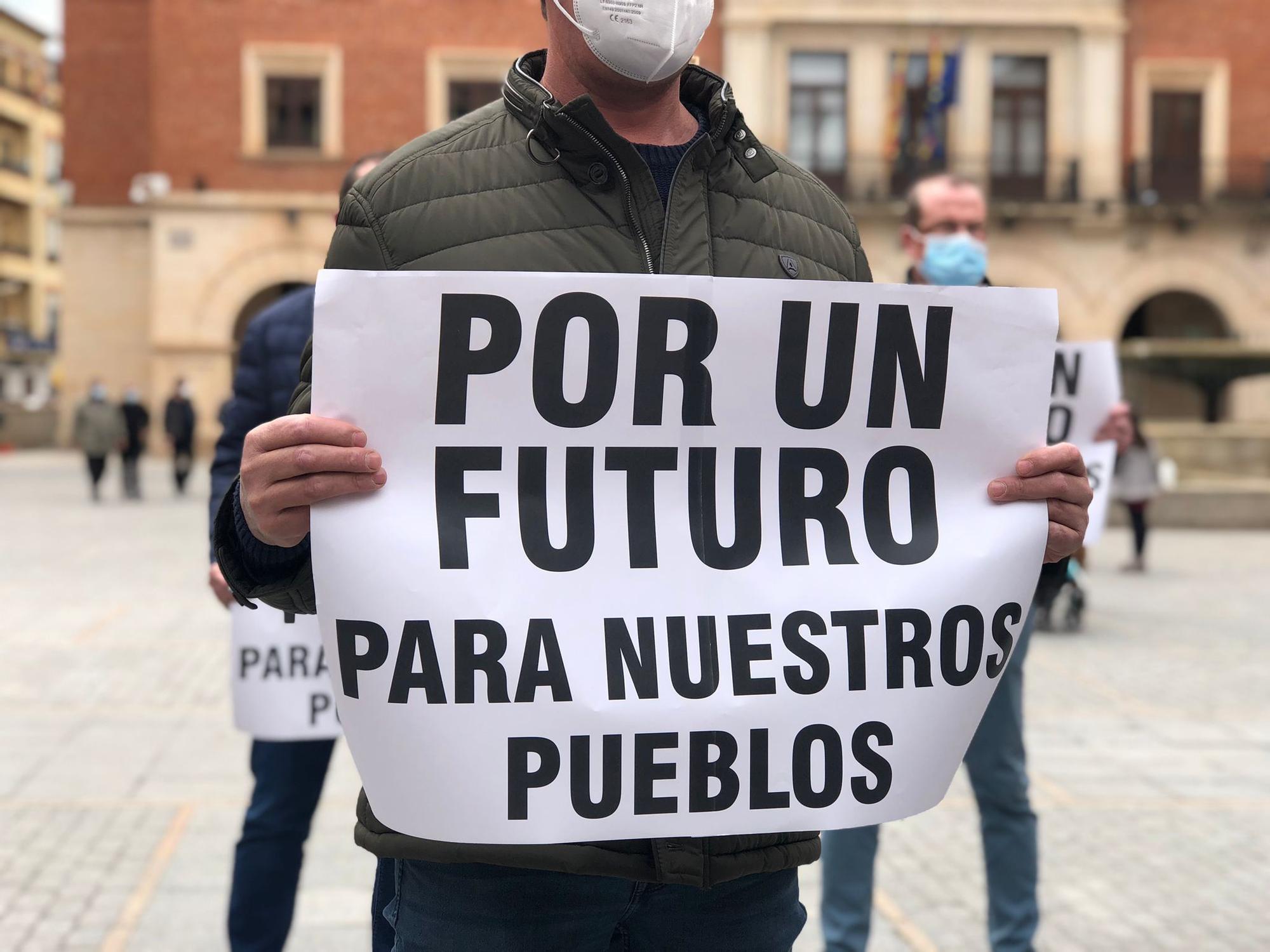 Reivindicación a favor de los parques eólicos en Teruel
