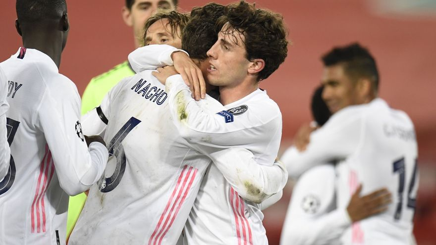 El Madrid sujeta al Liverpool y peleará por la final de la Champions