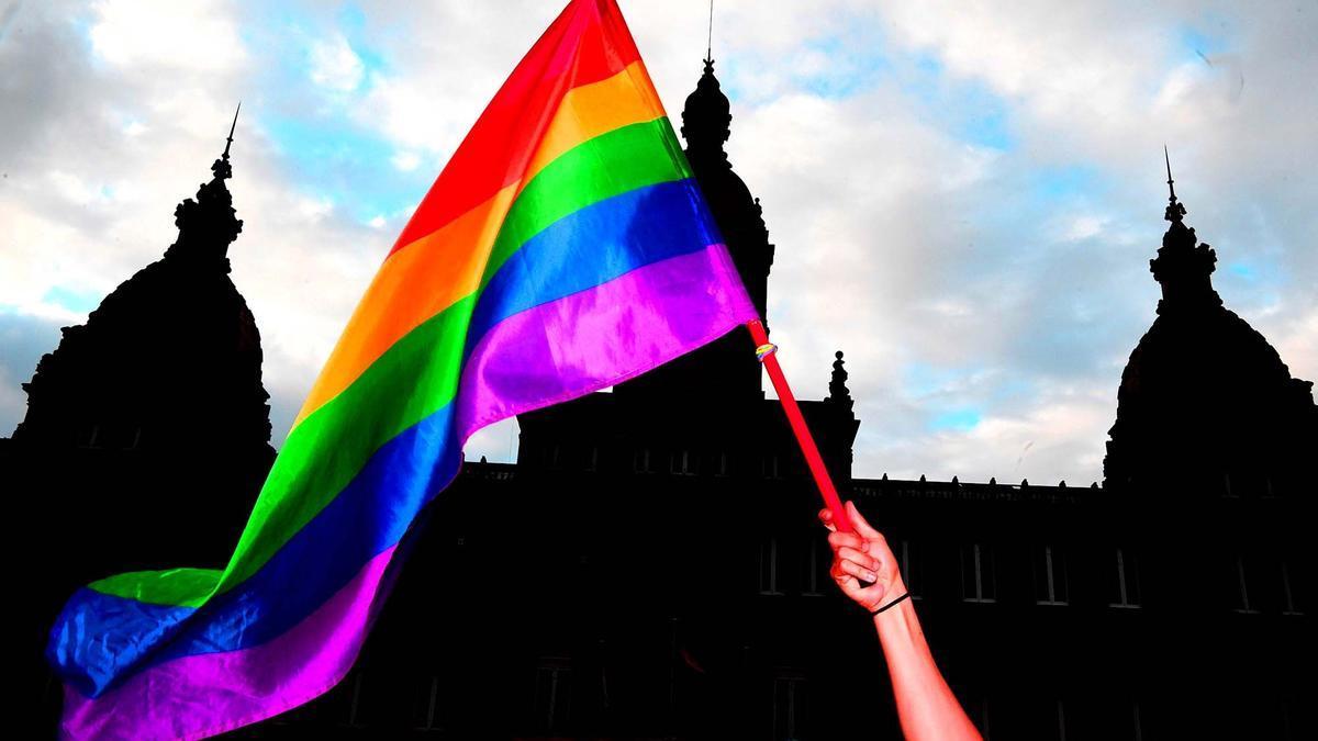 Celebración en A Coruña por el Día Internacional del Orgullo.