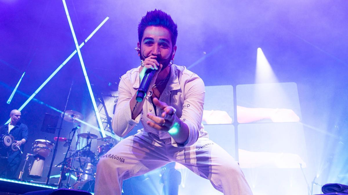 Camilo, en concierto