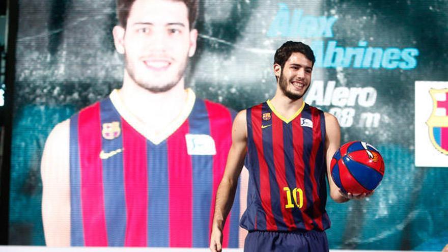 Álex Abrines ficha por el Barça