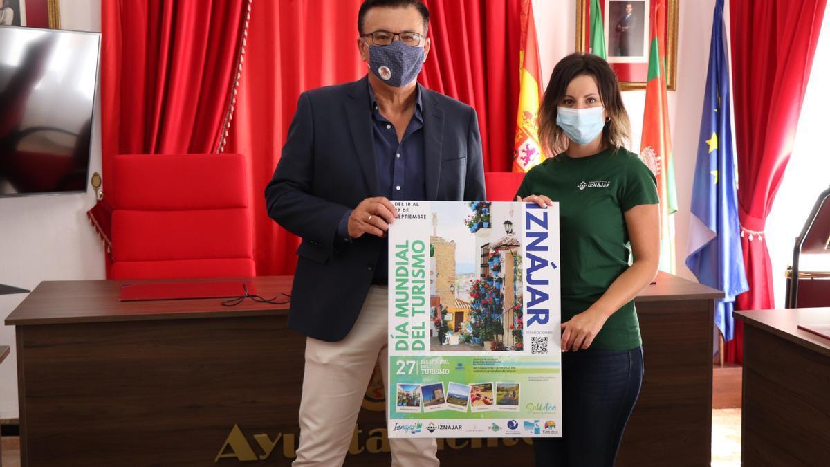 Presentación de los actos del Día del Turismo en Iznájar.