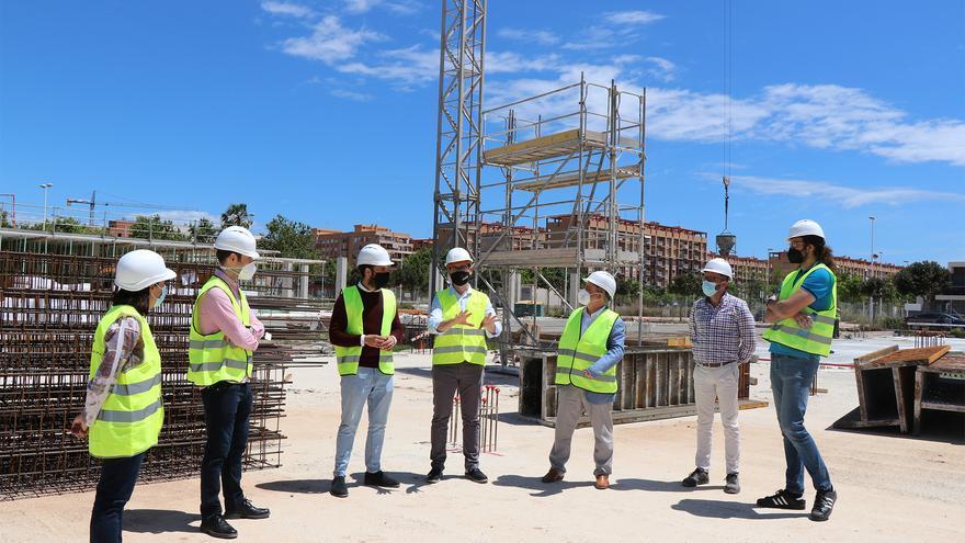 La obra del nuevo instituto del Port de Sagunt estará lista en un año