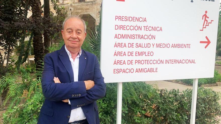 Antonio Ramón Guilabert, nuevo delegado de Cruz Roja en Elche