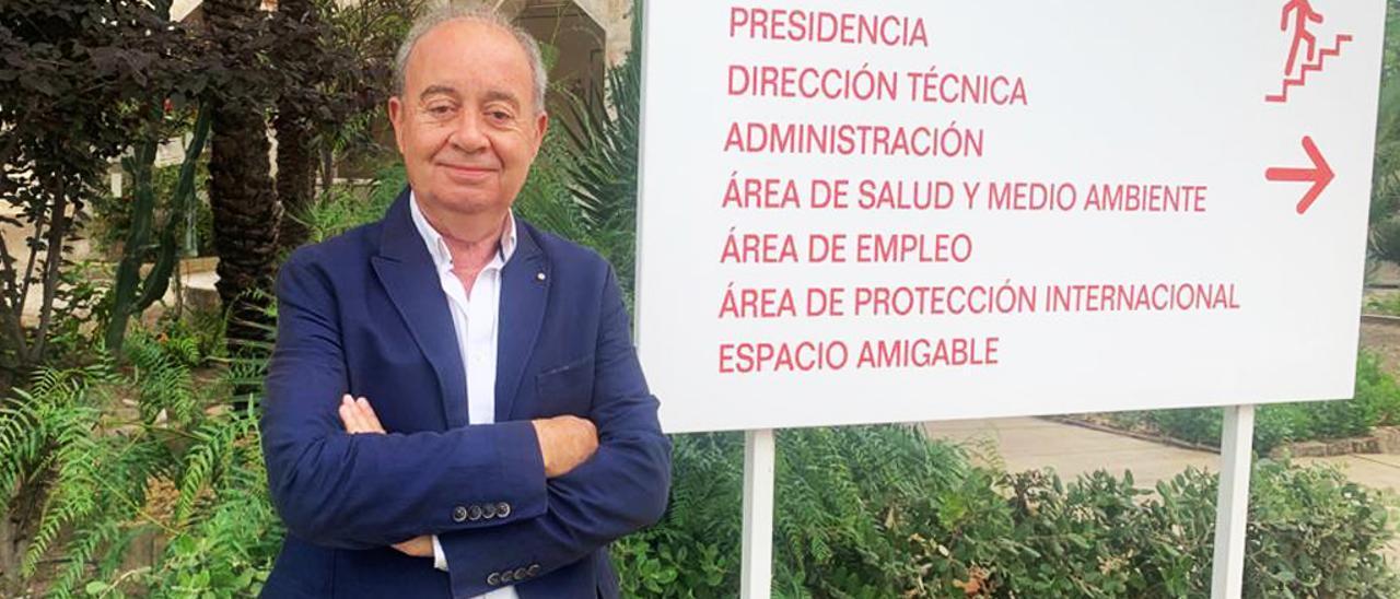 Antonio Ramón Guilabert, nuevo responsable de Cruz Roja en Elche