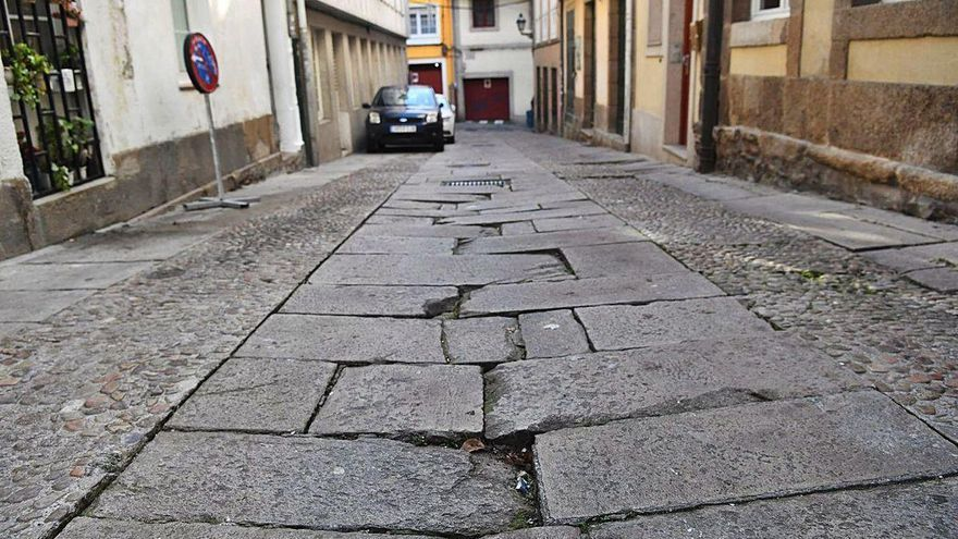 Urbanismo corrige el proyecto de la calle Cortaduría para preservar los cantos rodados