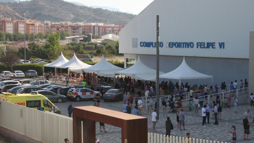 3.000 jóvenes de 12 a 19 años se vacunan este martes en Lorca