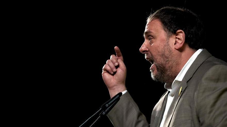 """Junqueras pide concentrar el voto en ERC para """"detener al fascismo"""""""