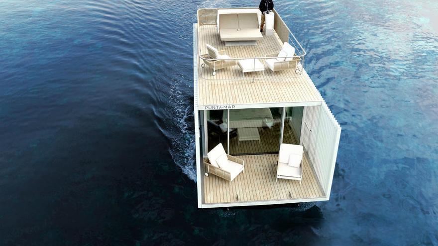 Así es la primera suite flotante del mundo, amarrada en Dénia