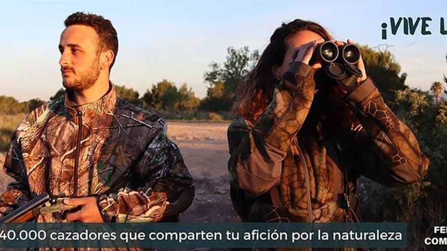 ¡Vive la caza!, la nueva campaña de la FCCV