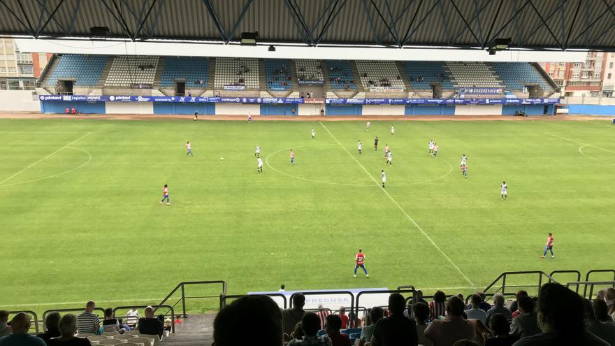 El Sporting vence 2-0 a Racing de Ferrol en un nuevo test de pretemporada