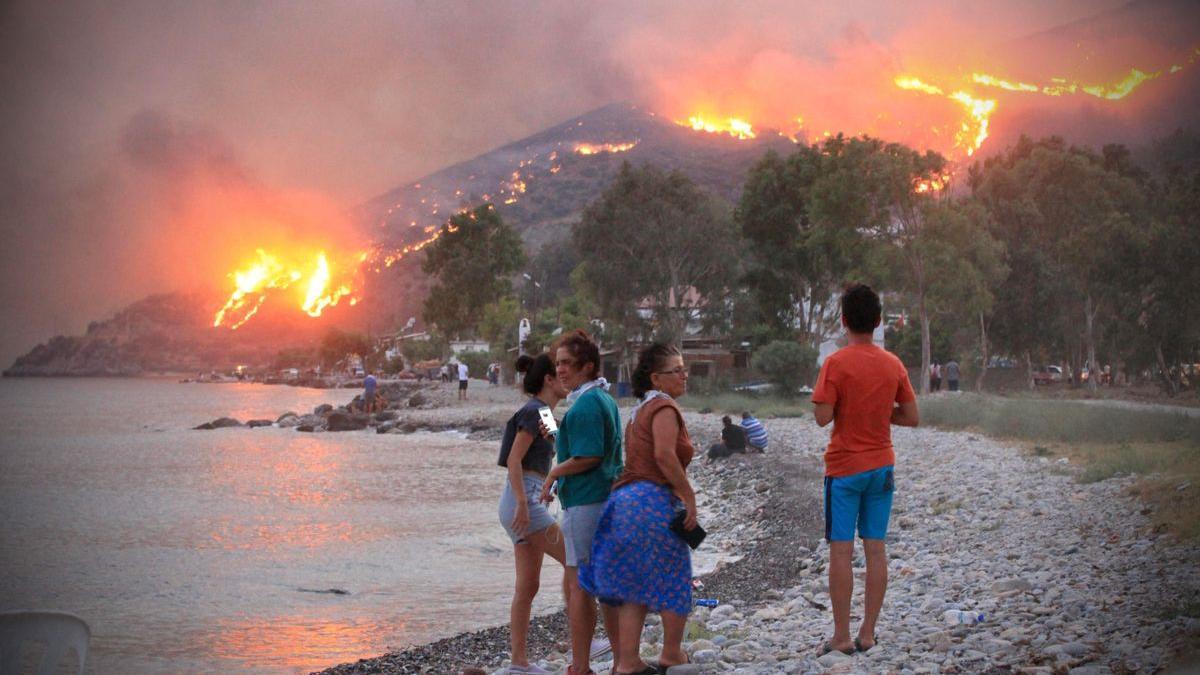¿Por qué ahora hay más incendios en el Mediterráneo?