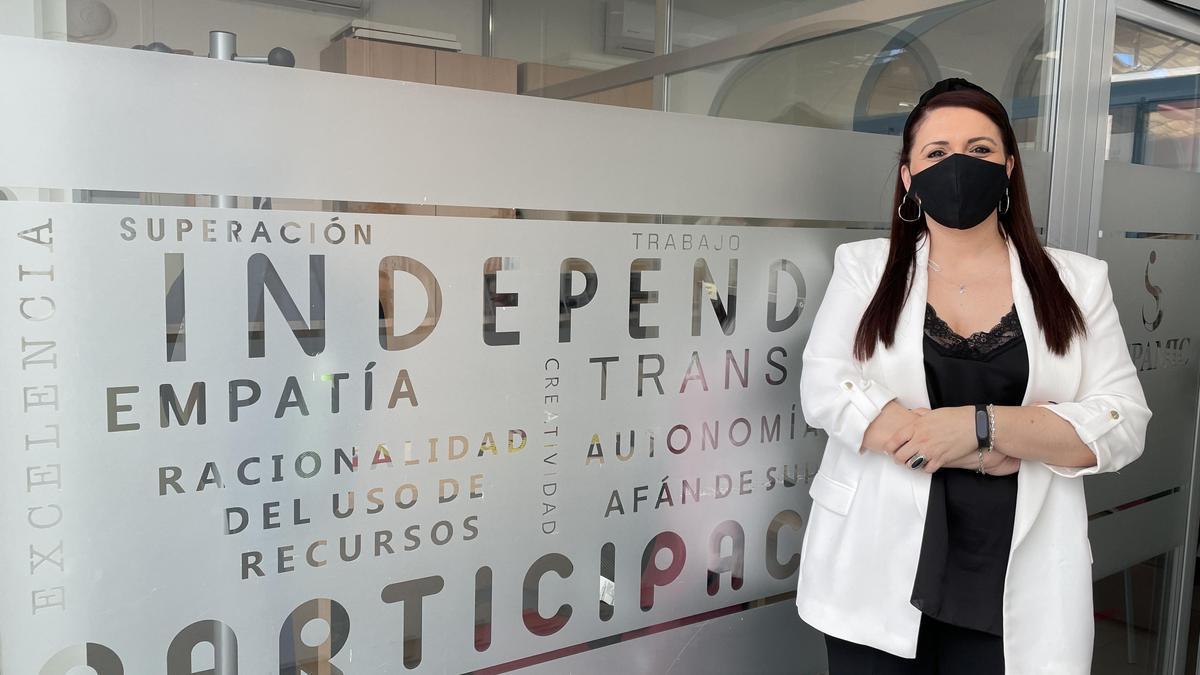 La presidenta de Fepamic, Sara Rodríguez.