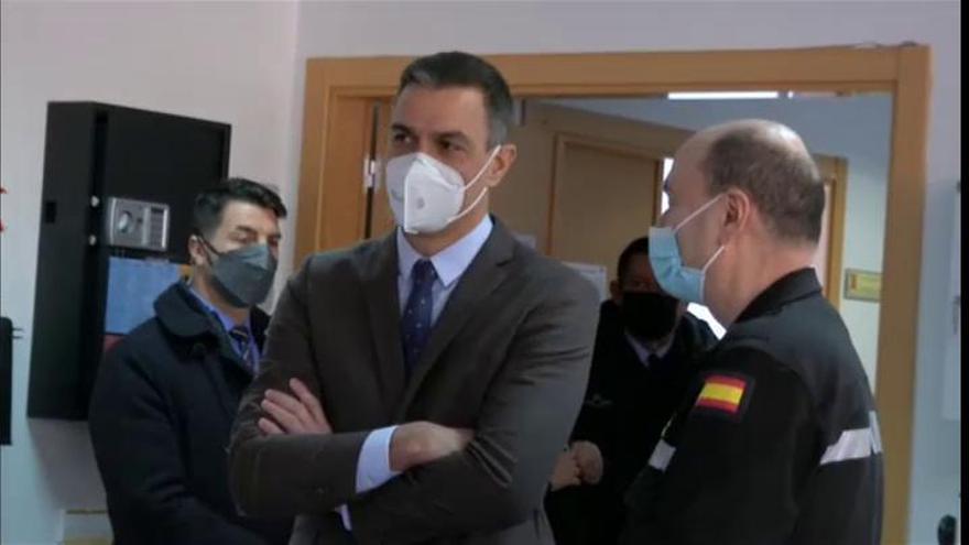 """Sánchez: """"La sociedad española no se rinde ante las adversidades"""""""
