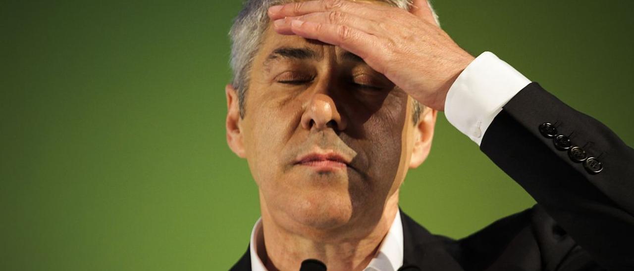 El exprimer ministro portugués José Sócrates.